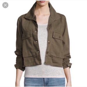 Romeo + Juliet Couture Olive Swing Back Jacket